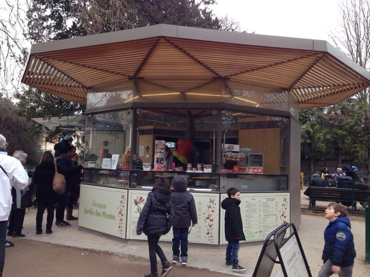 Kiosque Jardin des Plantes - Crêpes - Allée Becquerel, 5ème ...