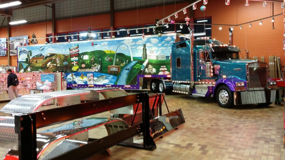 Petro Joplin Mo >> Another Custom Tractor Trailer Combination That Is Inside