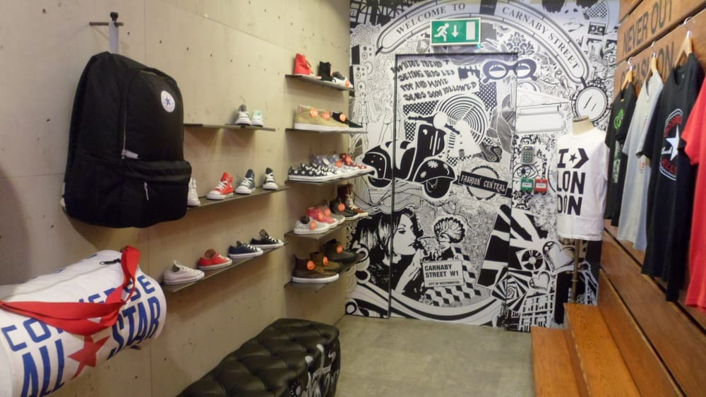 converse magasin londres