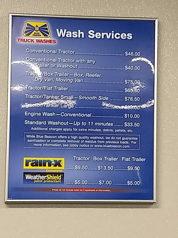 Blue Beacon Truck Wash Car Wash 98 Baker Rd Dexter Mi Phone Number Yelp