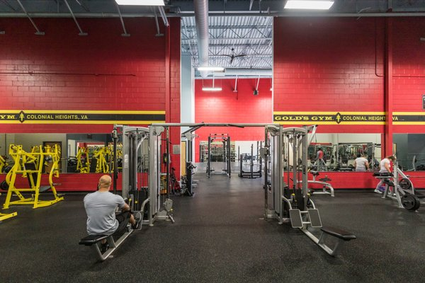 Gold S Gym 1823 Southpark Blvd Colonial Heights Va Real Estate Management Mapquest