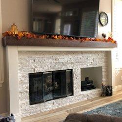 Custom Masonry Fireplace Design Rolando San Diego Ca 42
