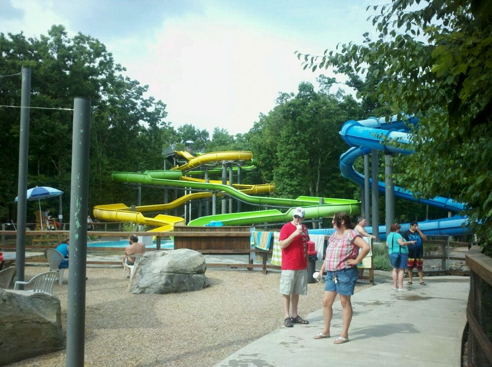 Photo of Costa's Family Fun Park - Hawley, PA, United States. Waterslide.