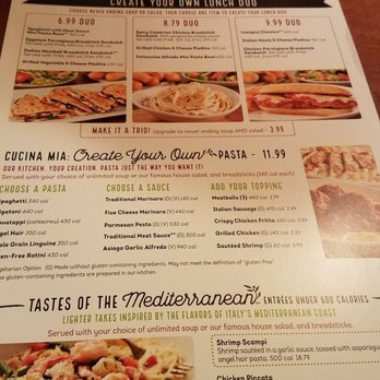Olive Garden To Go Delivery Available Updated Covid 19 Hours