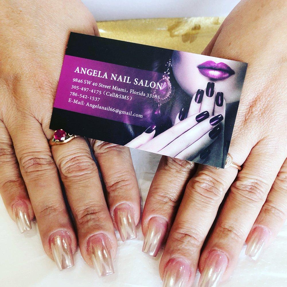 Angela Nail Salon Closed 94 Photos 23 Reviews Nail Salons 9846 Sw 40th St Miami Fl Phone Number Yelp