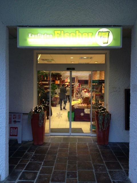 Kaufladen Fischer Supermarkt Lebensmittel Am