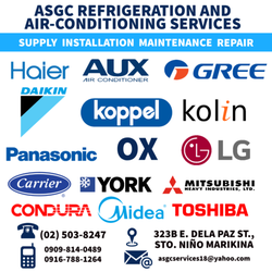 ASGC Refrigeration and Air-Conditioning Service