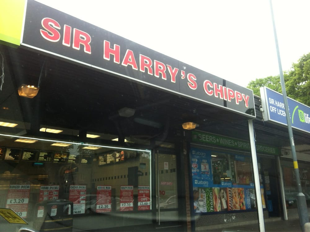 Sir Harrys Chippy Fish Chips 7 Hollies Croft