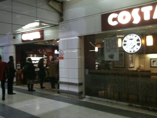 Costa Coffee Coffee Tea Shops 18 Liverpool St
