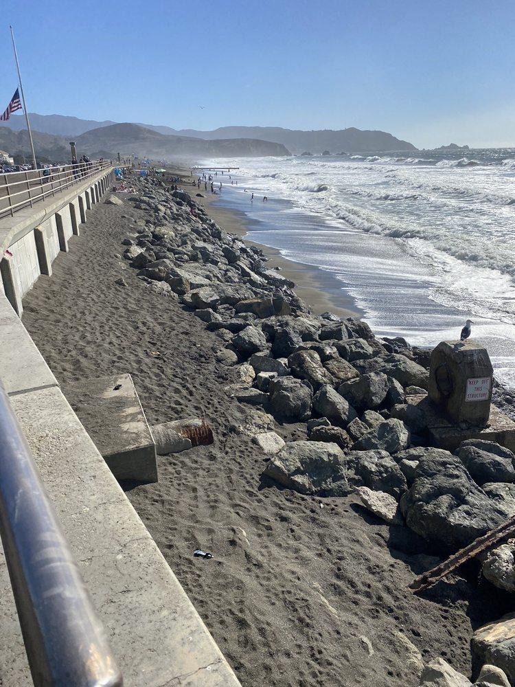Photo of Sharp Park Beach - Pacifica, CA, United States