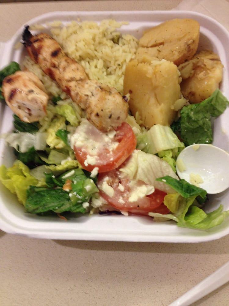 Chicken souvlaki dinner - Yelp