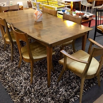Astounding Heywood Wakefield Cadence Dining Set In The Sable Finish Yelp Beatyapartments Chair Design Images Beatyapartmentscom