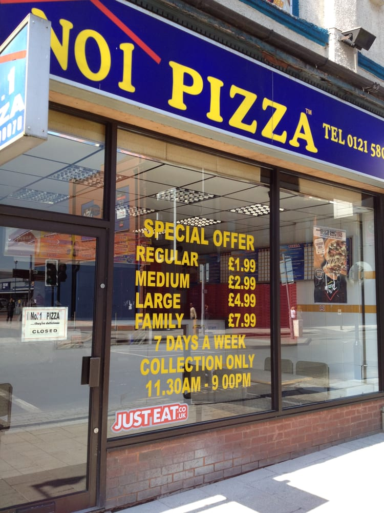 No 1 Pizza Pizza 286 High Street West Bromwich West