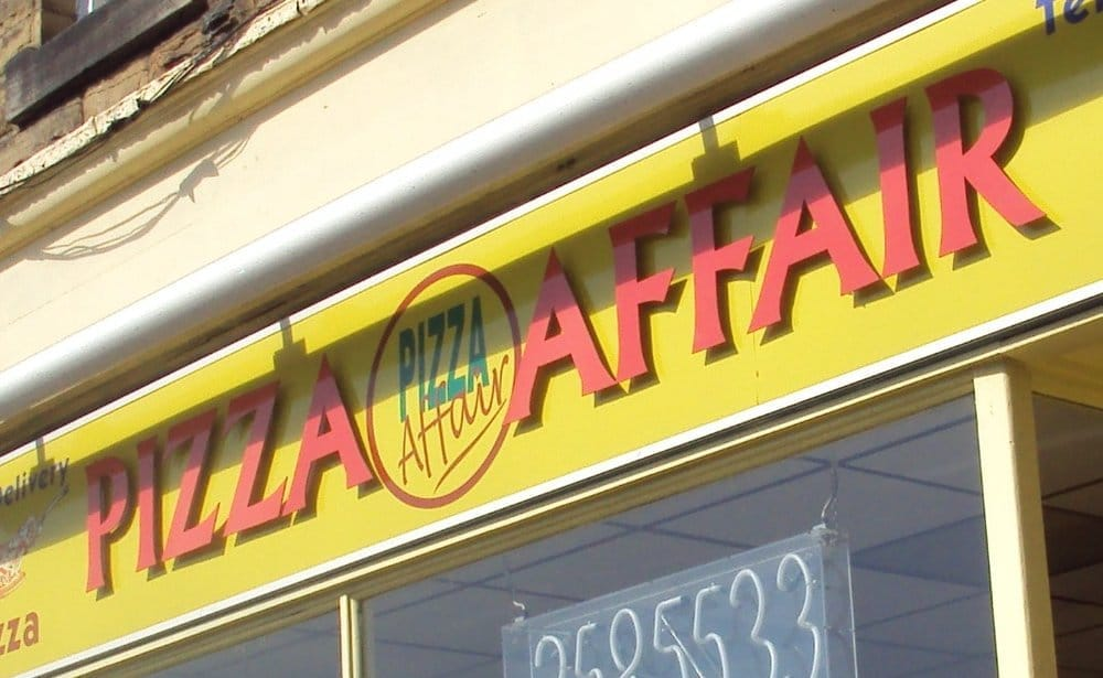 Pizza Affair Pizza 7 Station Road Horsforth Leeds