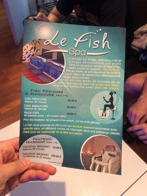 Le Fish Spa Bars 1 Avenue De Tresserve Aix Les Bains Savoie