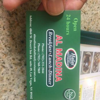 Al Madina Halal Family Restaurant Takeout Delivery 107 Photos 112 Reviews Halal 4860 W Desert Inn Rd Westside Las Vegas Nv Restaurant Reviews Phone Number Yelp
