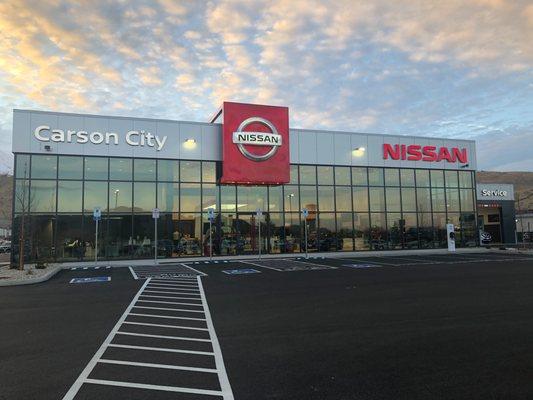 Nissan Carson City 2750 S Carson St Carson City Nv Auto Dealers Mapquest