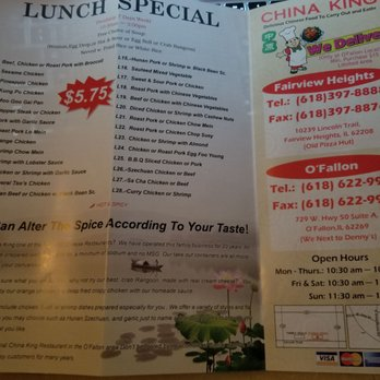 China King Takeout Delivery 14 Photos 34 Reviews Chinese 729 W Us Hwy 50 O Fallon Il Restaurant Reviews Phone Number Menu Yelp