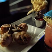 Photo of IPIC Theaters - Atlanta, GA, United States. Keto chicken wings w/ side of fries