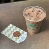 Photo of Dandelion Chocolate - Ferry Building - San Francisco, CA, United States. Iced Chocolate Chai (~$5).