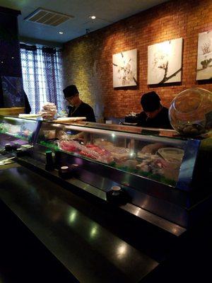 mizuno sushi menu