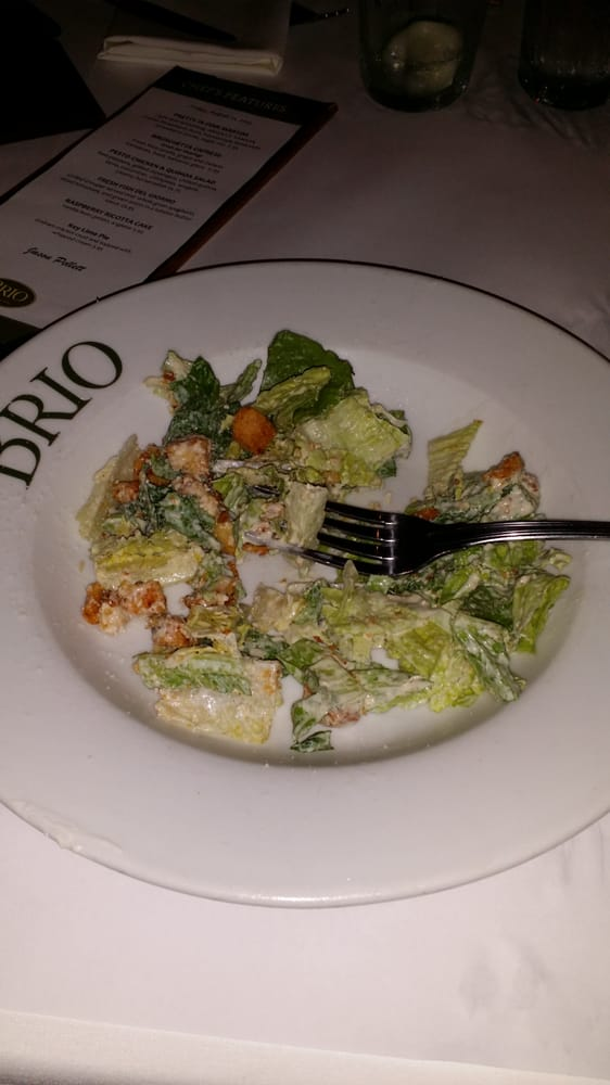 Photo of Brio Italian Grille - Sarasota, FL, United States. Ceasar Salad