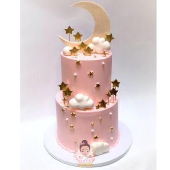 Tremendous Twinkle Twinkle Little Star Birthday Cake Yelp Personalised Birthday Cards Veneteletsinfo