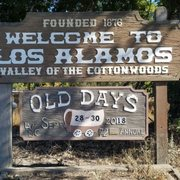 Photo of Old Days - Los Alamos, CA, United States. The welcome sign