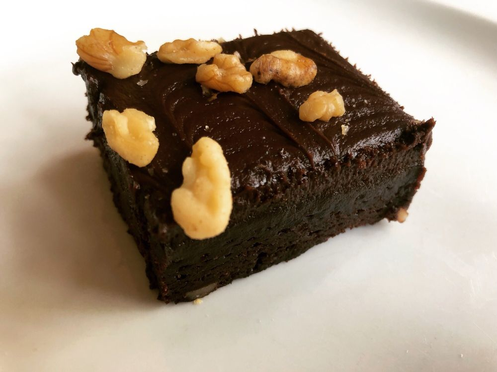 Publix bakery-fudge brownie with