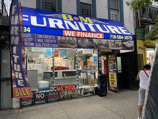 B M Furniture 2394 Grand Concourse, Furniture Warehouse Grand Concourse Bronx Ny