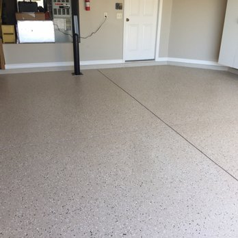 One Of Are Garage Floors They Turn Out Beautiful And Look