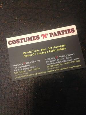 Costumes N Parties , Rentahan ng Gamit Para sa Party , 73