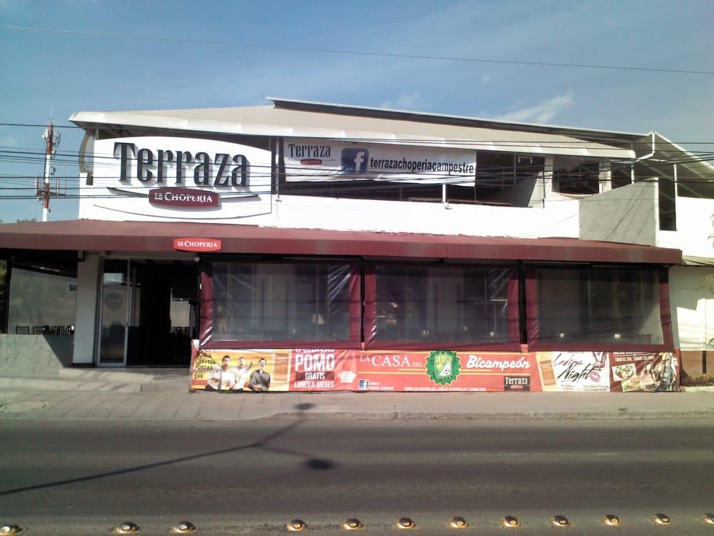 Terraza La Choperia Campestre Cerrado Cervecería Blvd