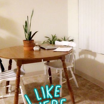 Bought this kitchen table for only $30! Really solid and a ...
