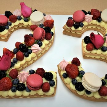 Magnificent French Number Cake For 23Rd Birthday Strawberry Shortbread With Funny Birthday Cards Online Overcheapnameinfo