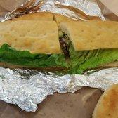 Photo of Pavia - Italian Cuisine & Catering - Boston, MA, United States. Conero sandwich