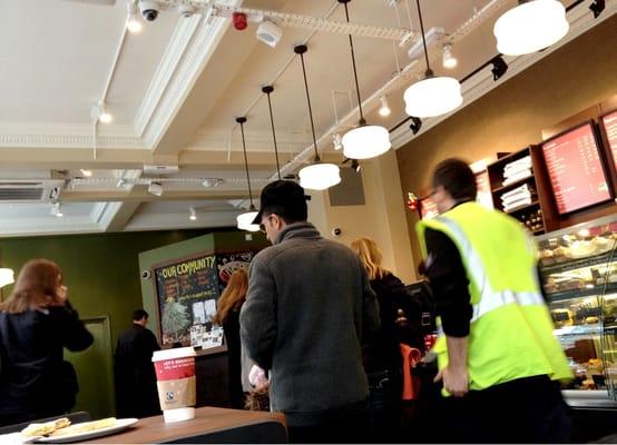 Starbucks Coffee Tea Shops 159 Great Portland Street