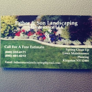 Father Son Landscaping Lawn Services Kingston Ny Phone Number Yelp