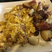 Photo of Café On Primrose - Burlingame, CA, United States. Omelette with potatoes