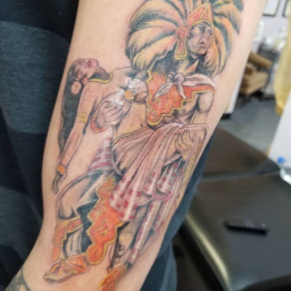 Aztec Temple Tattoo tattoomaui, indian tattoo, aztec tattoo - yelp