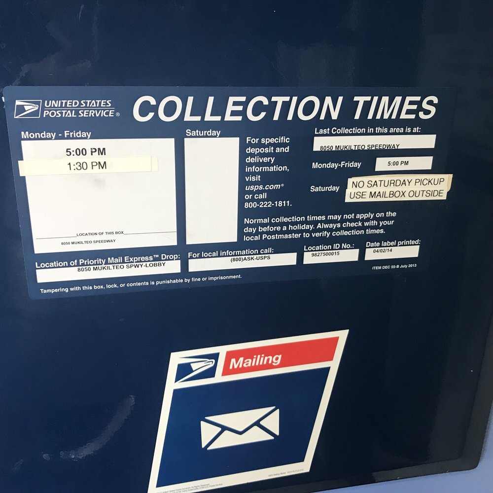 Post Office Collection Times >> Us Post Office 2019 All You Need To Know Before You Go