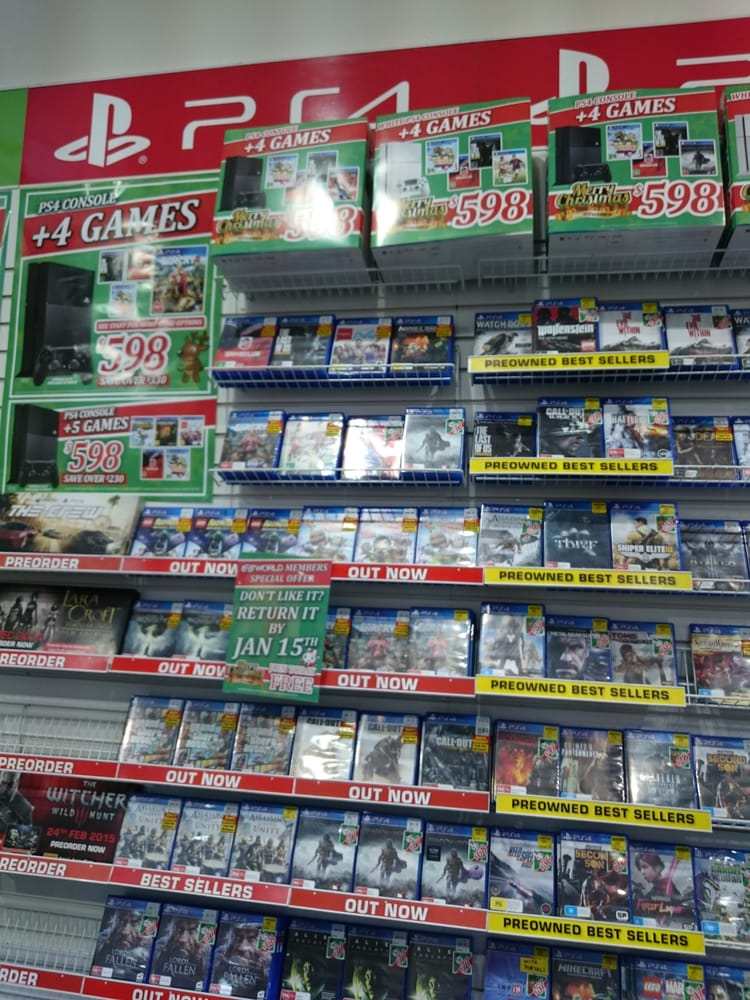 Eb Games Video Game Stores Level 2 Broadway Shopping Centre