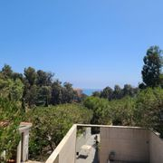 Photo of The Getty Villa - Pacific Palisades, CA, United States. Pacific Ocean in the distance