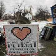 Photo of Heidelberg Project - Detroit, MI, United States. Detroit
