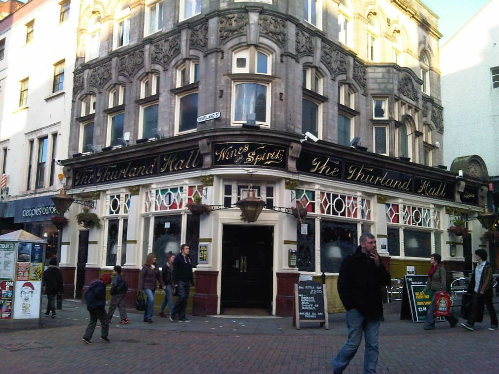The Thurland Hall Hotel Pubs 8 Thurland Street