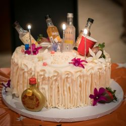 Awe Inspiring Aloha Cakes Az Desserts 9397 E Shea Blvd Scottsdale Az Yelp Funny Birthday Cards Online Benoljebrpdamsfinfo