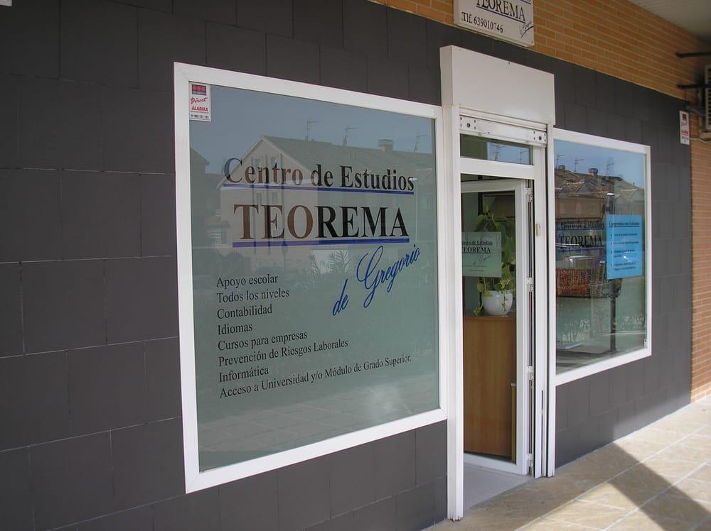 CENTRO DE ESTUDIOS TEOREMA | C/ Marte, 80, 28341 Valdemoro (Madrid) | +34 639 010 746