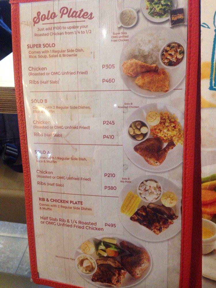 Kenny Rogers Roasters 12 Photos Fast Food Roxas Boulevard Pasay City Pasay Metro Manila Philippines Restaurant Avis Numero De Telephone