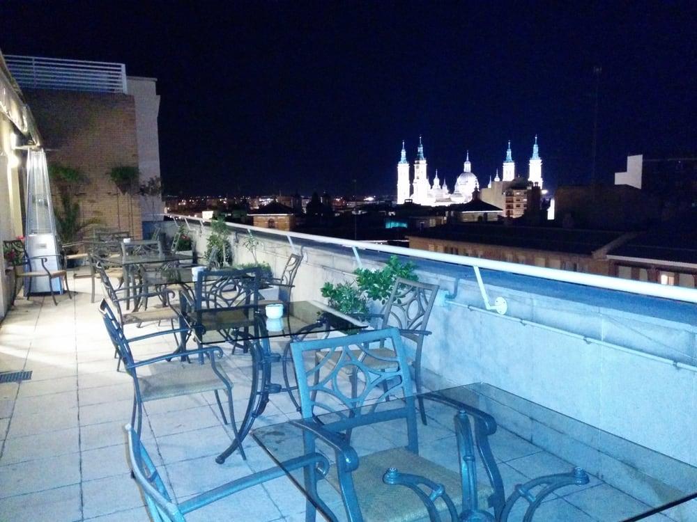 Vistas Desde La Terraza Planta 8 Del Restaurante Del Hotel