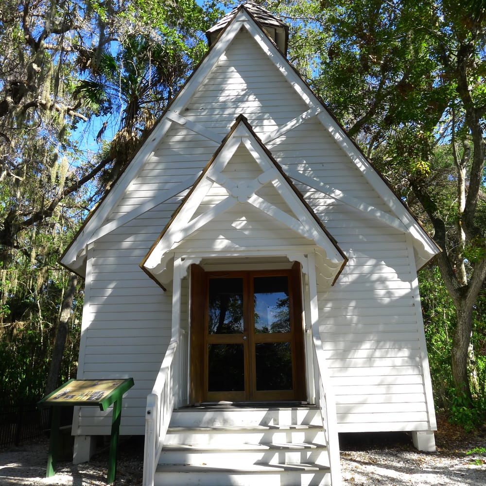 Photo of Historic Spanish Point - Osprey, FL, United States. chapel